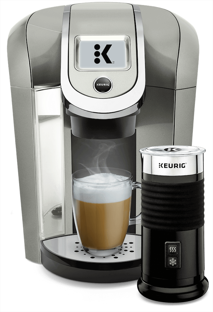 K525 Coffee Maker (Black) + Keurig<sup>®</sup> Milk Frother