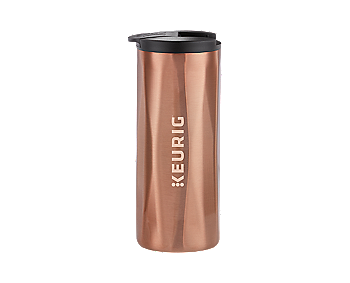 Keurig® 14oz. Faceted Travel Mug