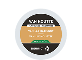 Vanilla Hazelnut Decaf Coffee,recyclable