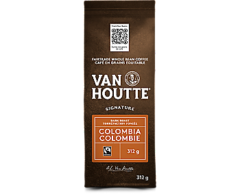 Café colombien noir signature en grains