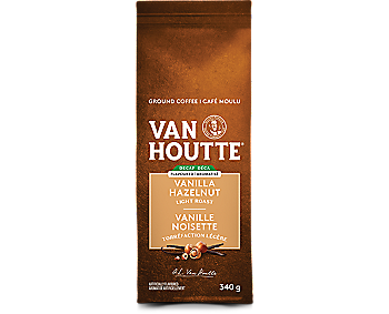 Vanilla Hazelnut Decaf Ground Coffee
