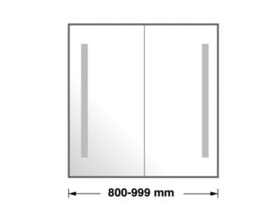 800-999mm