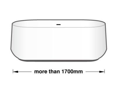 Lực chọn theo chiều dài bồn tắm 4
