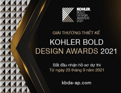 GIẢI THƯỞNG THIẾT KẾ KOHLER BOLD DESIGN AWARDS 2021