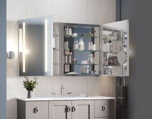 อยากเพิ่มพื้นที่ใช้สอย พื้นที่เก็บของ หรือเพิ่มมุมแต่งหน้าสวยๆ ในห้องน้ำ