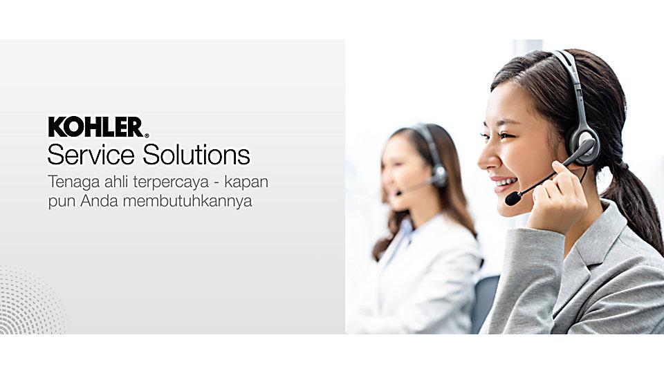KOHLER Service Solutions - tenaga ahli percaya untuk masalah konsultasi, informasi pemasangan dan perbaikan
