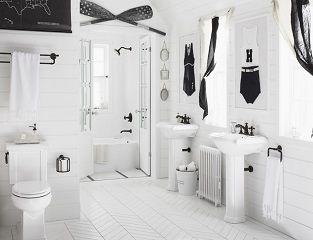mang nghệ thuật vào phòng tắm