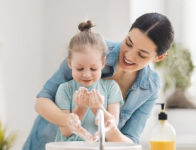 Bathroom cleanliness improves health