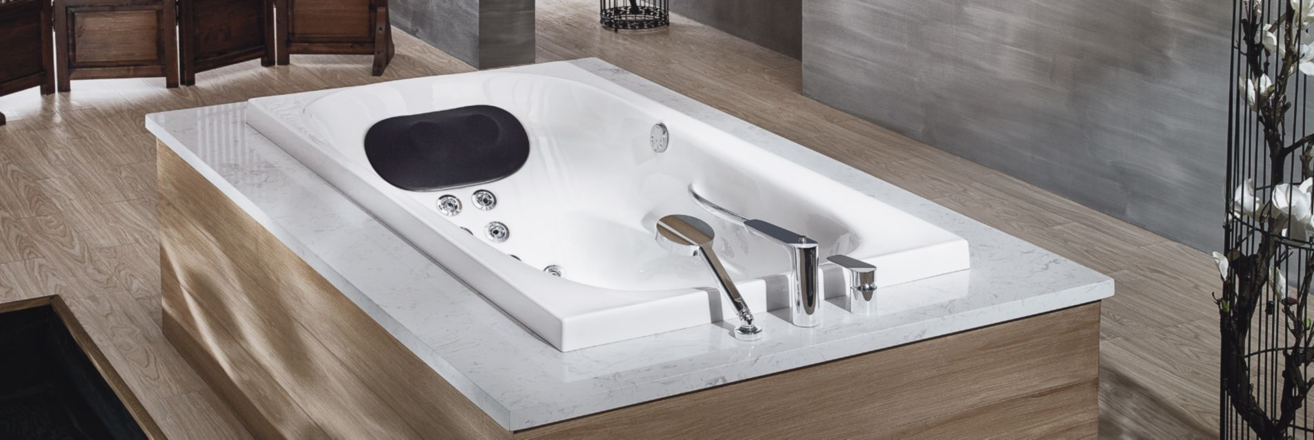 Karess<sub>™</sub> Drop-In Whirlpool Bath