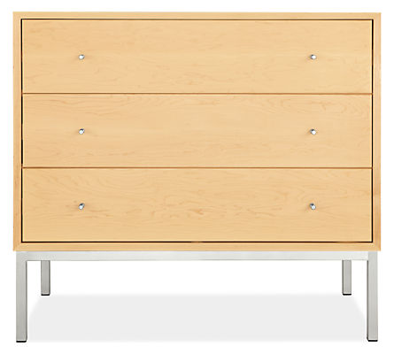 Delano 37w 20d 33h Three-Drawer Dresser