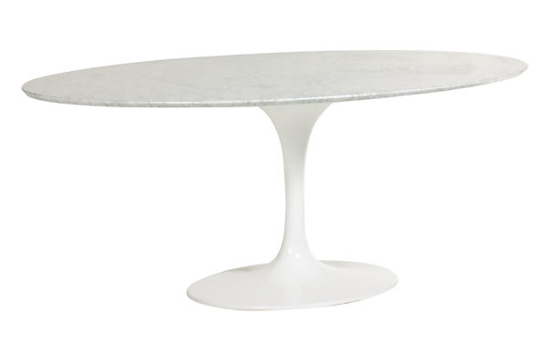 Saarinen 78w 48d 28h Oval Table