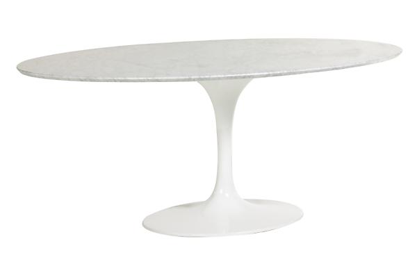 Saarinen 78w 48d 28h Oval Table