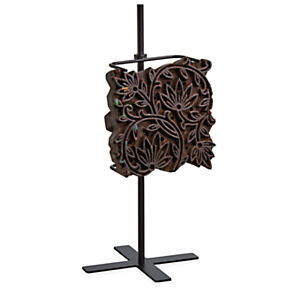 Vintage Textile Block with Stand