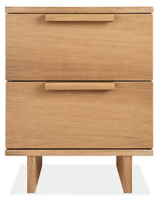 Ashby 18w 19d 22h Two-Drawer Nightstand