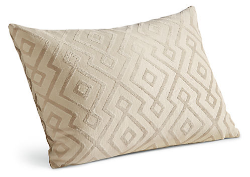 Woodhall 20w 13h Throw Pillow White