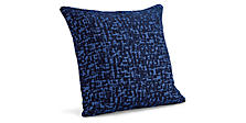 Staccato Pillow in Cobalt