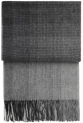 Horizon Micro Plaid Throw Blanket