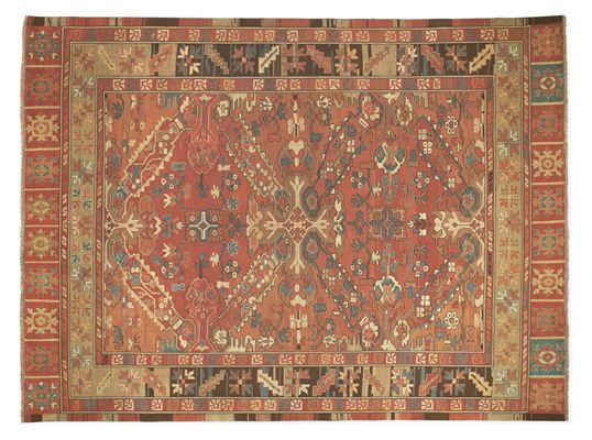 Kayseri Handknotted Wool Rug Modern Patterned Rugs Modern
