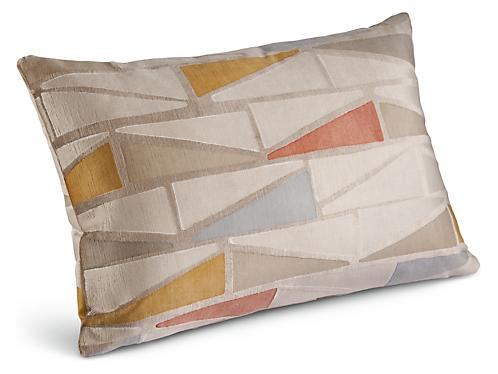 Facet 20w 13h Throw Pillow