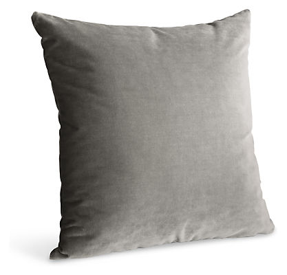 Velvet Modern Throw Pillows - Modern Throw Pillows - Modern Bedroom Furniture - Room & Board