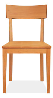 Doyle Side Chair with Wood Seat