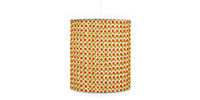Dot 16 diam 18h Round Pendant in Citron/Orange