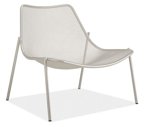 Soleil Outdoor Lounge Chair Modern
