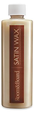 Room & Board Satin Wax - 16 ounce Bottle