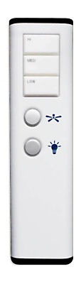 Modern Fan Remote Control for LED Light