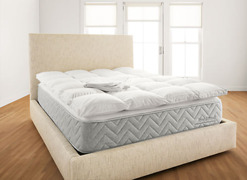 Baffled Box 95/5 Feather Bed and Cover