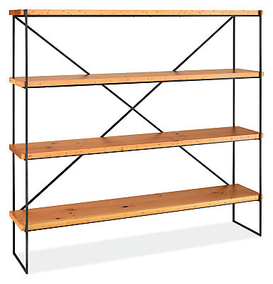 Etting 72w 15d 66h Reclaimed Wood Bookcase