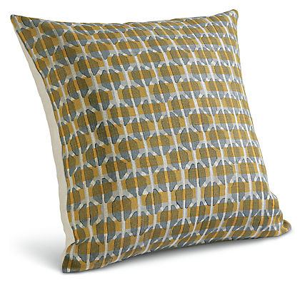 Lattice 22w 22h Throw Pillow