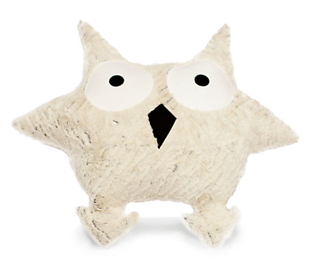 Indy Plush Owl Pillow