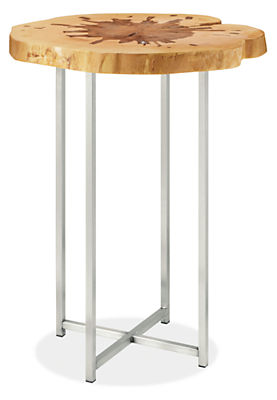 Allard End Tables In Stainless Steel Allard Collection