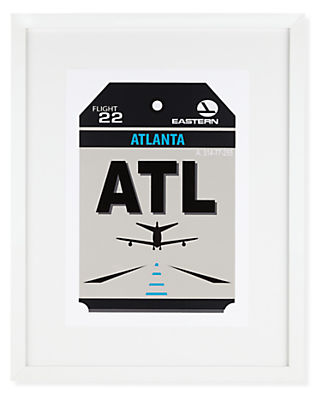 Atlanta Destination Tag, ATL