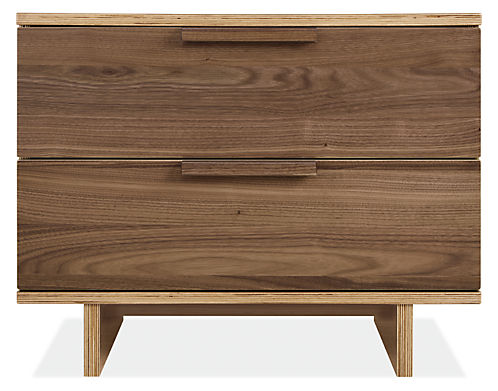 Ashby 28w 19d 22h Two-Drawer Nightstand