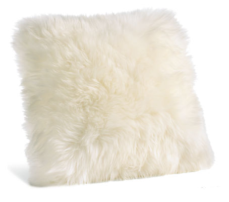 Sheepskin 14w 14h Throw Pillow