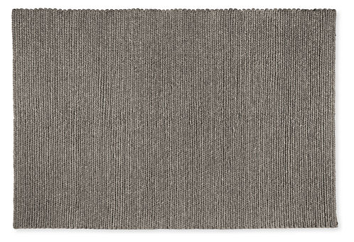 Cable Hand Woven Wool Rug Modern Solid Rugs Entryway Furniture Room Board