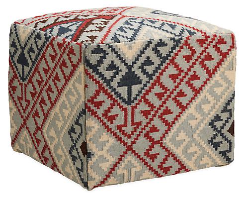 Indira 20w 20d 18h Square Ottoman