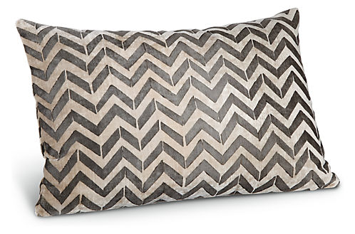 Herringbone 20w 13h Throw Pillow