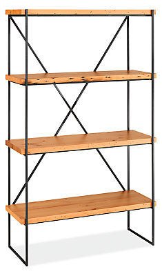 Etting 40w 15d 66h Reclaimed Wood Bookcase