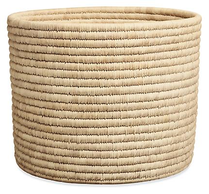 Bangla 18 diam 14h Round Storage Basket