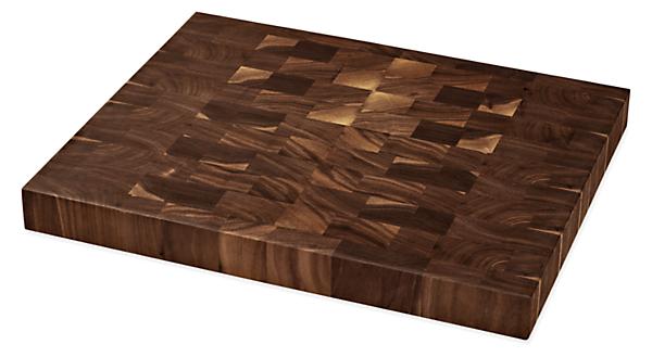 Walden 16w 13d End-Grain Cutting Board Walnut