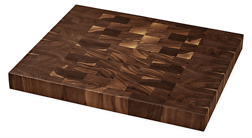 Walden 16w 13d End-Grain Cutting Board Walnut