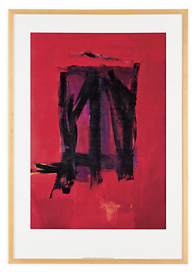 Franz Kline, Red Painting