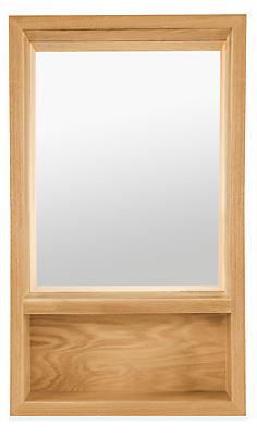 Loft 20w 4.5d 34h Mirror with Shelf