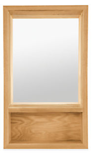 Loft 20w 4.5d 34h Mirror with Shelf