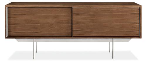 Smith 60w 16d 24h Two-Door Media Cabinet