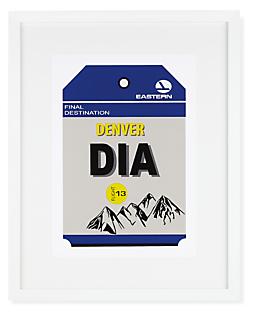 Denver Destination Tag, DIA