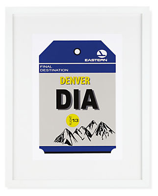 Denver Destination Tag, DIA